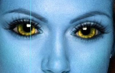Stesura eyeliner della palpebra inferiore