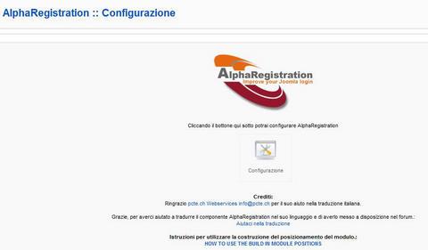 Alpha Registration