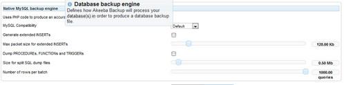 Akeeda Backup MySQL
