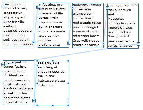 Più campi di testo collegati