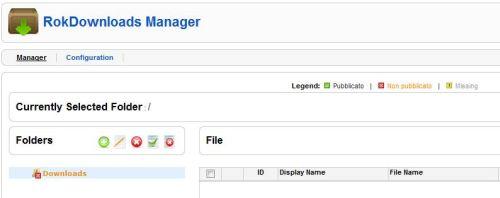 Rokdownloads Manager