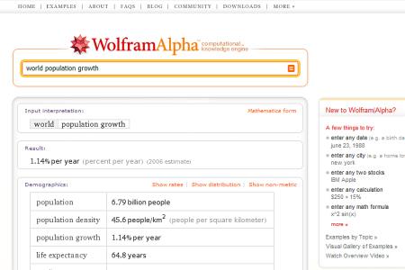 WolframAlpha, il motore computazionale