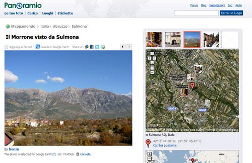 Figura 6: Le foto di Panoramio