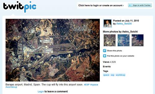 Figura 9: le foto su Twitter con Twitpic