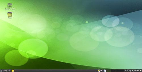 Figura 1: Ildesktop Gnome di OpenSUSE 11.3