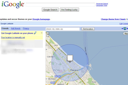 Figura 4: Google Latitude