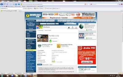Firefox: Pagina estensione download TV-FOX