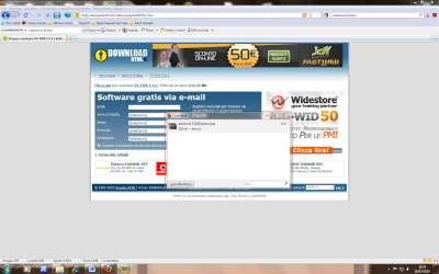 Firefox: Pannello download contenente estensione