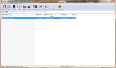 Firefox: Esempio gestore file compressi