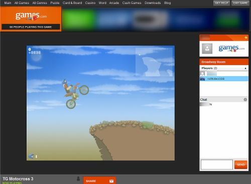 Figura 4: Games.com: più di mille titoli e modalità multigiocatore