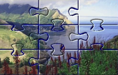 Immagine a puzzle