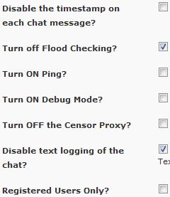 Disabilitiamo il timestamp delle chat