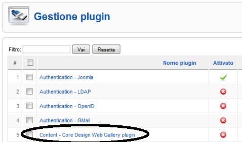 Attiviamo Core Design Web Gallery