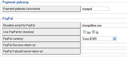 Configurare PayPal