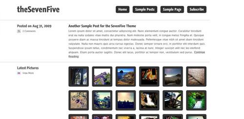 The Seven Five tema per WordPress