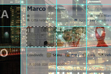 Selezione della prima foto taggata