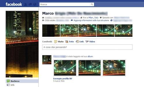 Profilo di Facebook terminato