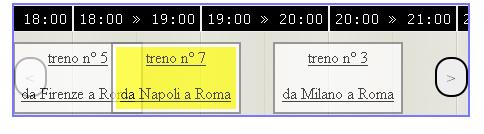 timetable dei treni