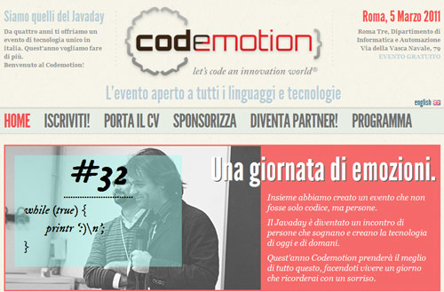Sito codemotion