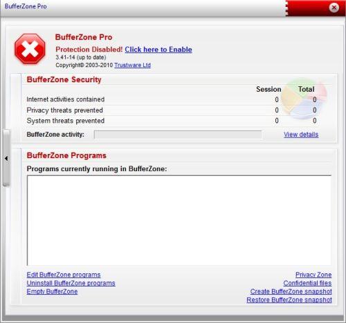 Trustware Bufferzone