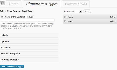 Assegnamo un nome al custom post