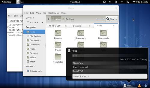 Integrazione con il desktop della messaggistica istantanea