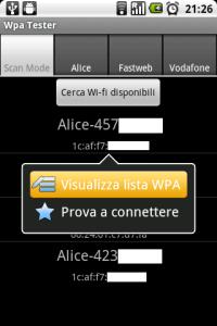 WPA Tester