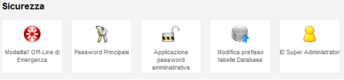 Admin tools sicurezza