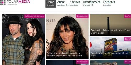 Polar Media Magazine WordPress Theme