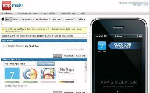 Figura 1: AppMakr
