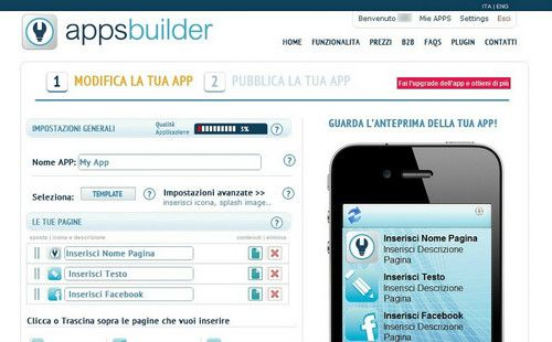 Figura 6: Apps Builder