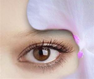 Ecco il risultato del volto con il fiore