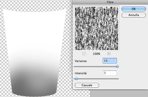 Applicare il filtro Fibre su Photoshop