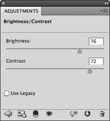 Luminosità/contrasto