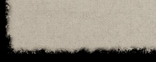 Particolare del bordo frastagliato, prima fase