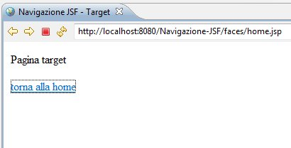 target page di prova