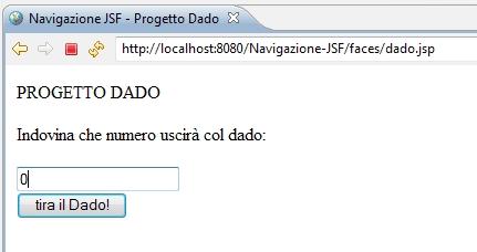 il progetto di esempio Dado