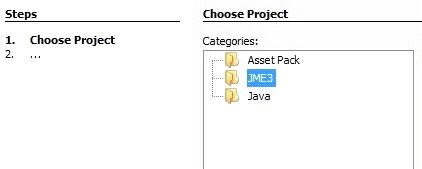 creazione del progetto BasicGame