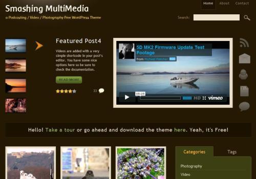 Smashing Multimedia Theme