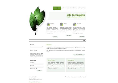 AS Green Templates