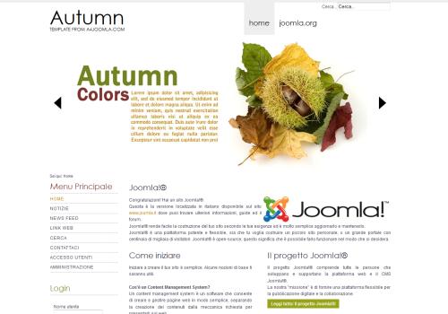 A4joomla Autumn Template