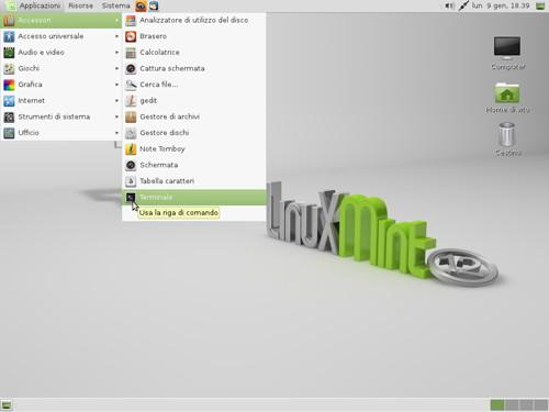 Figura 6: MATE su Ubuntu 11.10