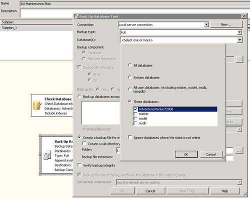 Backup (configurazione)