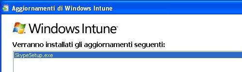 Installazione del software distribuito