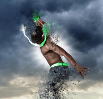 Aggiungere drammaticità con un fascio di luce