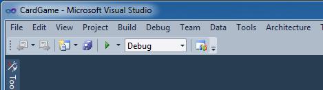 La toolbar semplificata di dev11