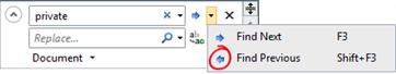 Search and replace nel singolo file