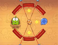 Screenshot di uno dei livelli speciali disegnati appositamente per questa versione