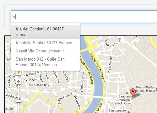 jQuery UI Map