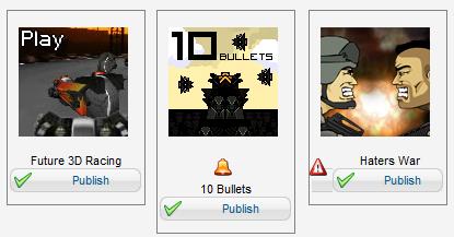 Simboli per i giochi da aggiungere